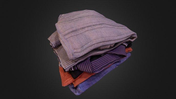 Clothes Pile 3D Model