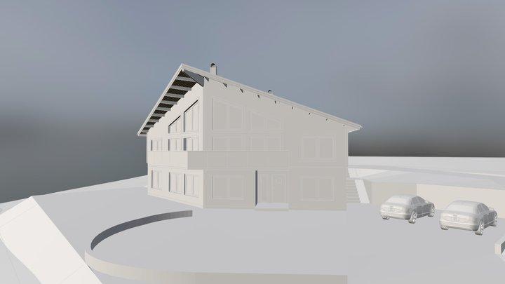 Fjällstuga i Åre 3D Model