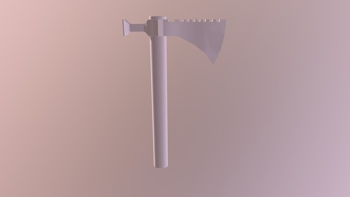 Game Res Tomahawk 3D Model