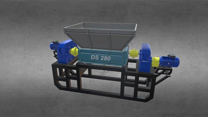 Shredder DS 280 3D Model
