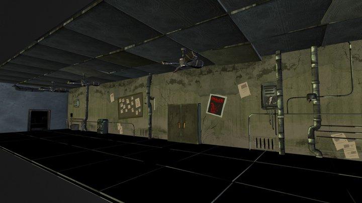 Madness Room B 3D Model
