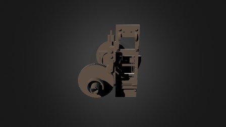Cinematograph Mechanism 3D Model