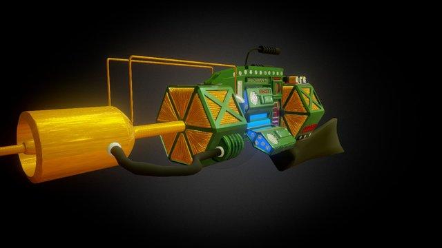 HALF-LIFE TAU CANNON 3D Model