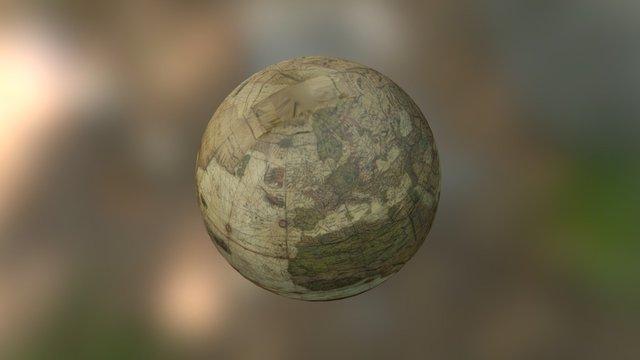 Mercator globe (earth) 3D Model