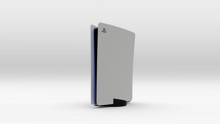 PlayStation 5 3D Model