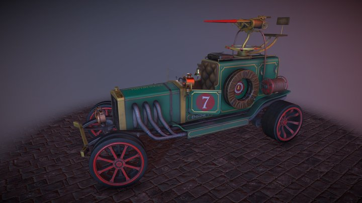 Fire engine 3D Model