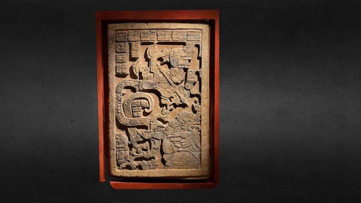 Mayan Lintal (~ AD 725) 3D Model