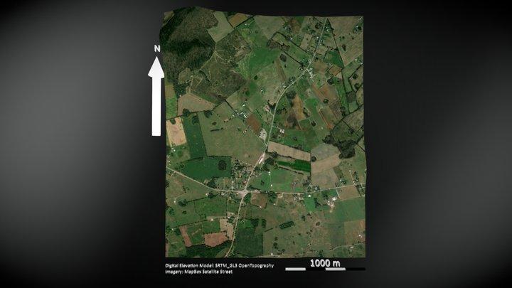 Sinkhole Plain, Kentucky 3D Model