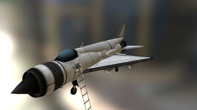 MiG - 21 PFM 3D Model
