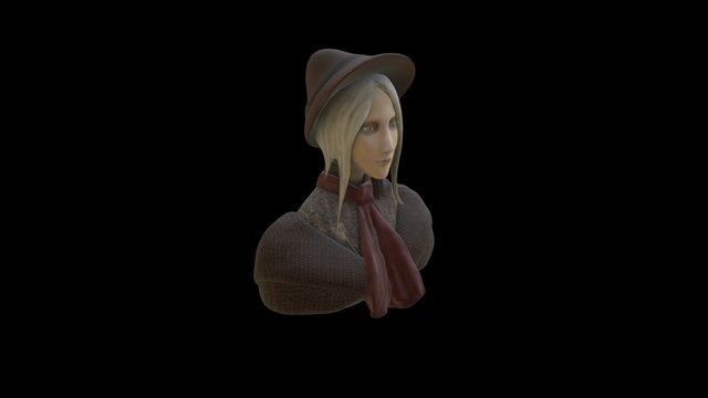 Bloodborne Doll Remake 3D Model