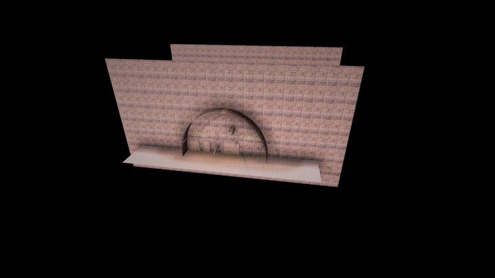 secret_base 3D Model