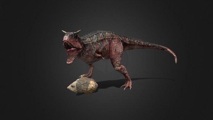 CARNOTAURUS DİNOSAUR 3D Model