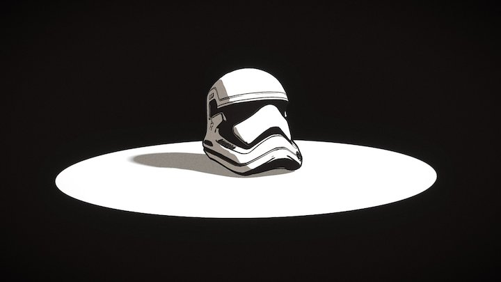 Stormtrooper - sketch 3D Model