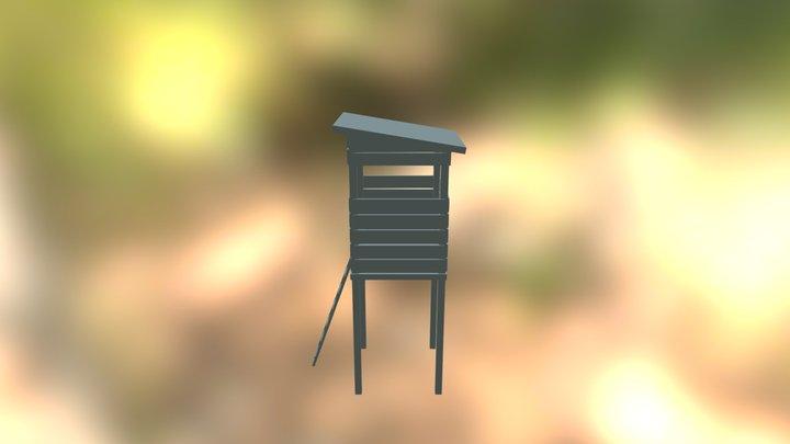 Deerstand wip 3D Model