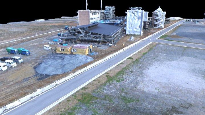Sky x Terrain: Hashikami Koyo High School 波路向洋高校 3D Model
