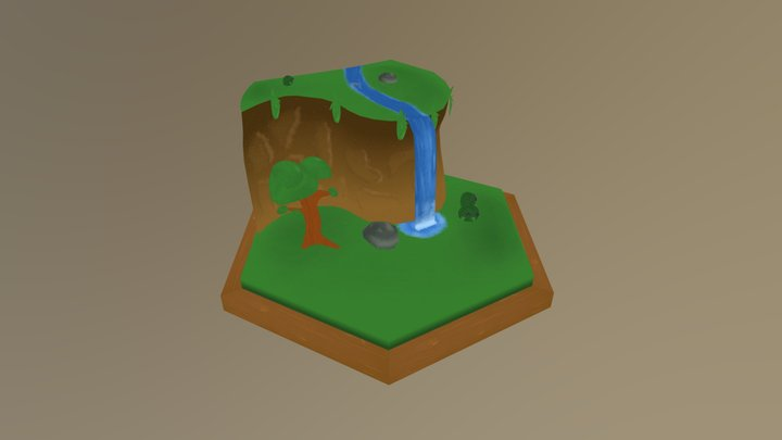 2. Nature Untouched 3D Model