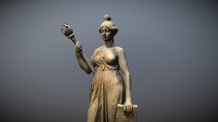 Schele maagd 3D Model