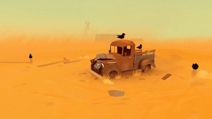 Uncle Otto's truck 3D Model