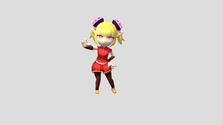 Game Elf 3D Model
