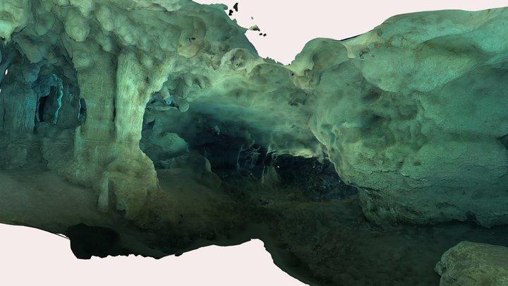 Sagitario cave 3D Model