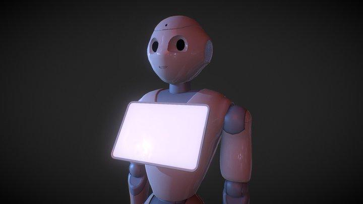 Robot_clean 3D Model