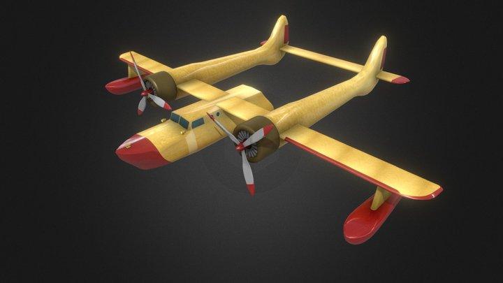 Ganso Volador-- 3D Model