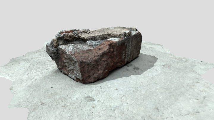 Brick Scan (Photogrammetry) 3D Model