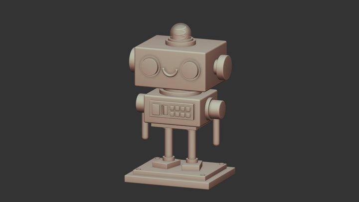 square base 3D Model