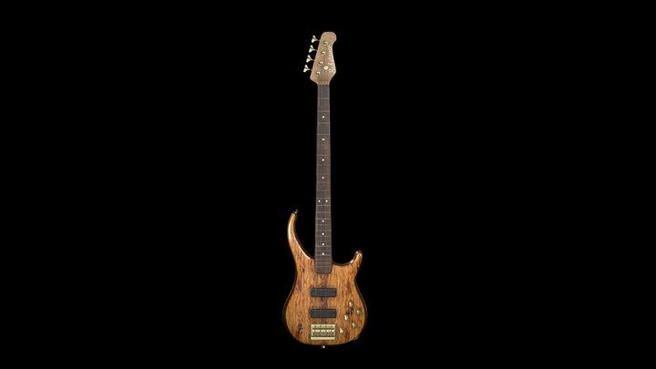 Custom-made Bass Guitar 3D Model