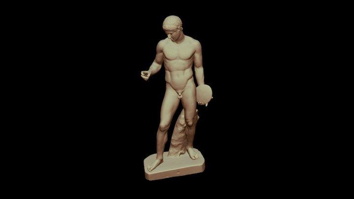 Discus Thrower 3D Model