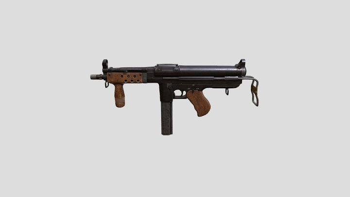 US_ARMY_SMG 3D Model