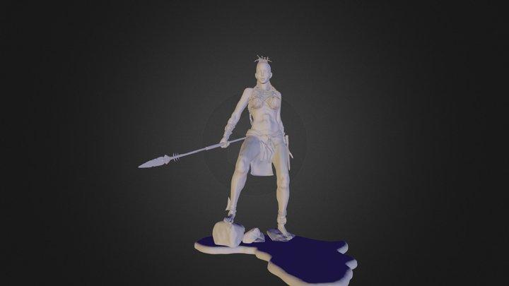 Azaria 3D Model
