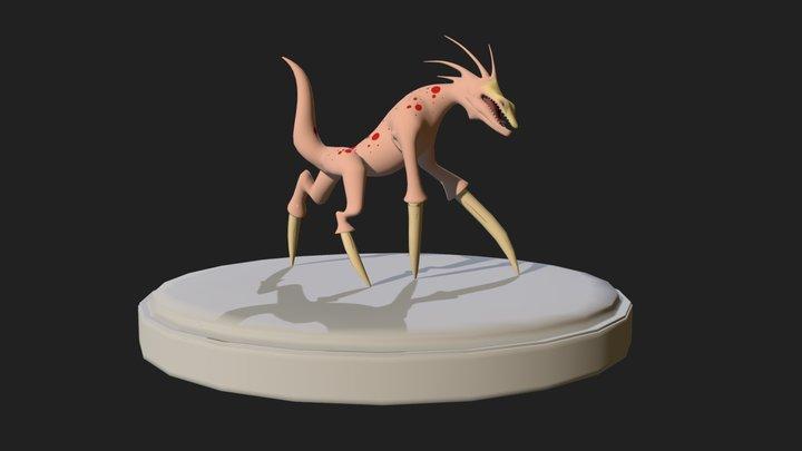 Spike Feet 3D Model