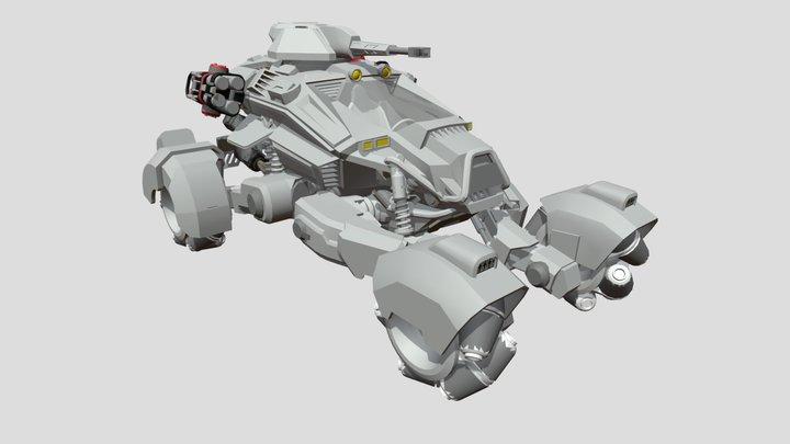 Batman buggy 3D Model