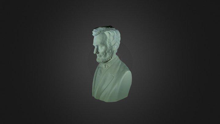 Lincoln Sculpture Mesh (C) DMA 3D Model