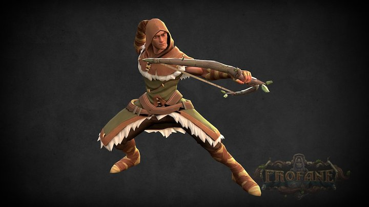 Village Hunter 3D Model