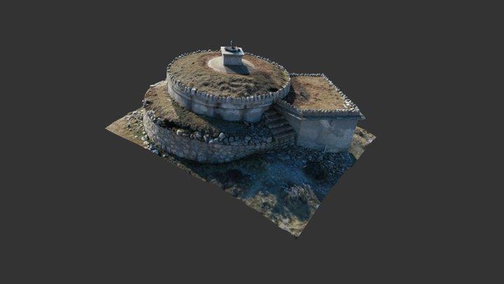 Stone Water Tanker 3D Model