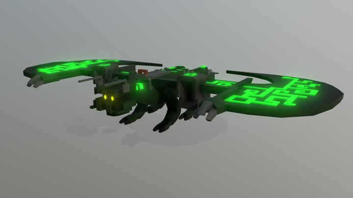 Trove - Fortras, the Herald of Battle 3D Model