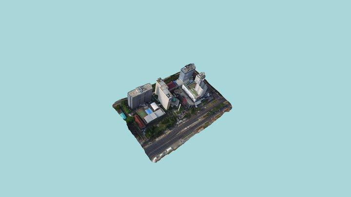 Kawasan Kemdikbud 3D Model