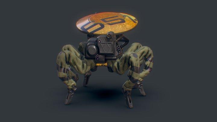 Data Bot 3D Model
