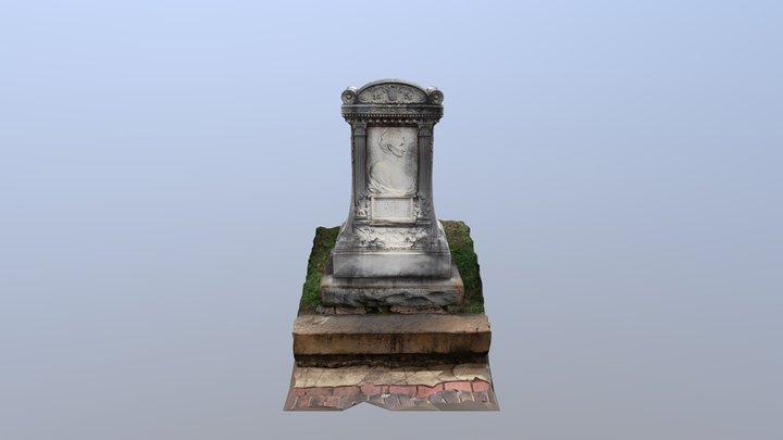 Oakland Cemetery - Elizabeth Brown 3D Model