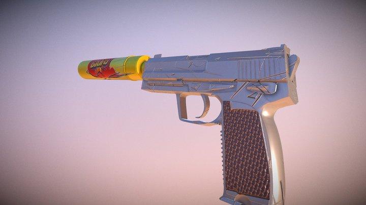Bang | Usp-s 3D Model