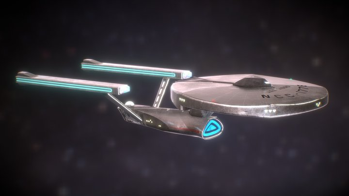 Star Trek Fan Ship - U.S.S. CASSIO 3D Model