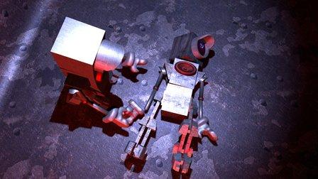 Reboot Dramatic Scene 3D Model