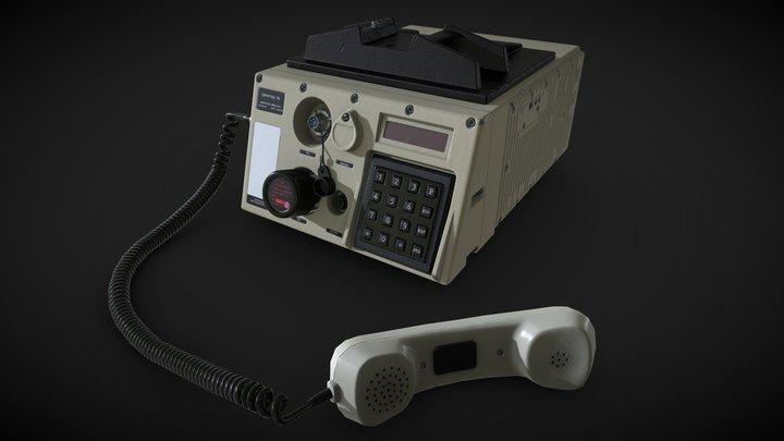 Cryptex 70 - Spy gear 3D Model