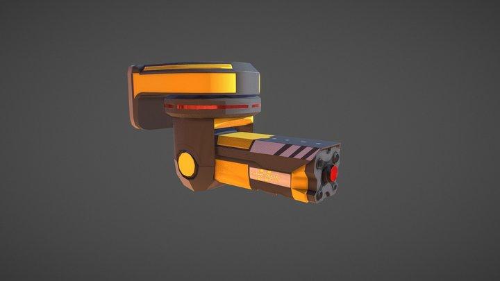 Sci-Fi Camera 3D Model