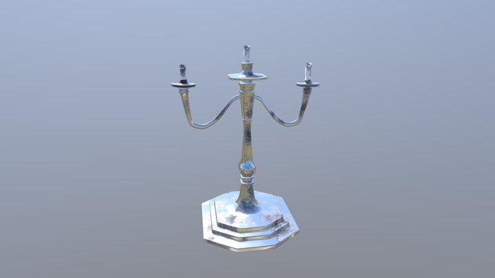 Haunted Mansion - Candelabra 3D Model