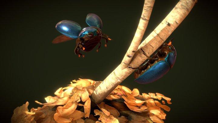 Scarabs 3D Model