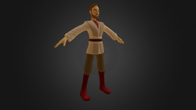 Obi-Wan WIP #4 3D Model