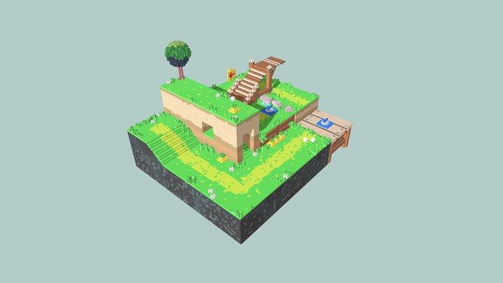 Captain Toad - Plucky Pass Beginnings 3D Model